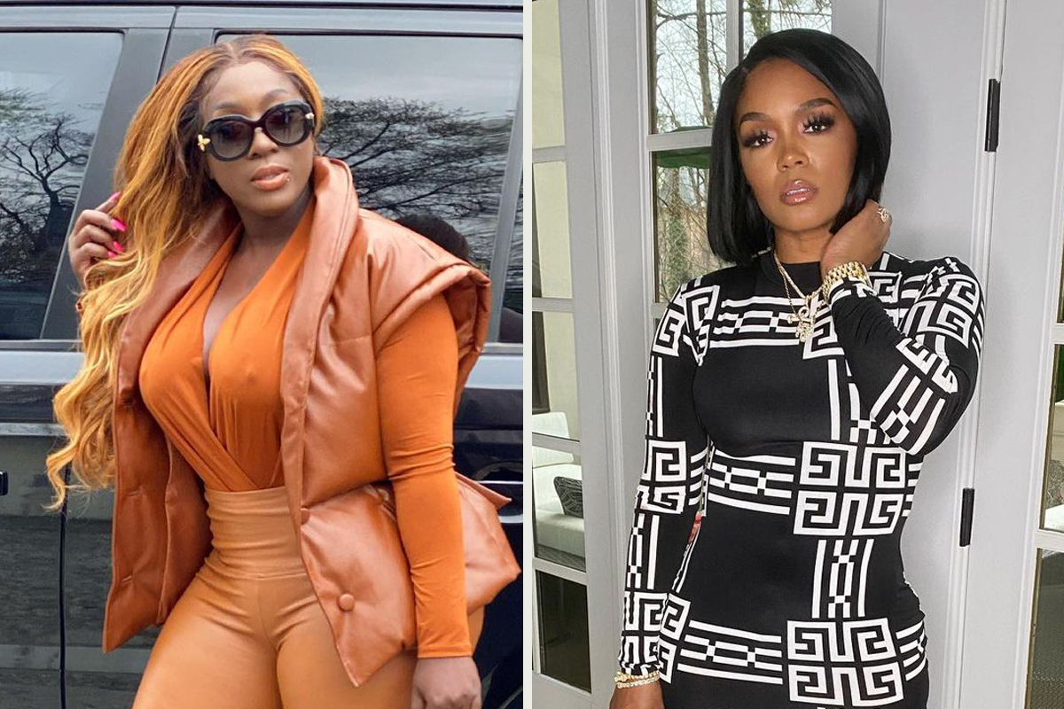 Dancehall Queen Spice Gives LHHATL Co-Star Rasheeda Frost A Patois Lesson