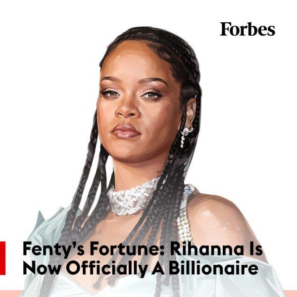 Rihanna Forbes Billionaire