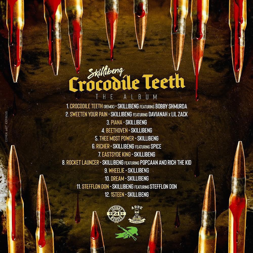 croc teeth tracklist